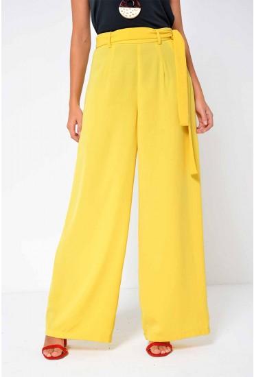 Mita Lynn Wide Pant in Yellow