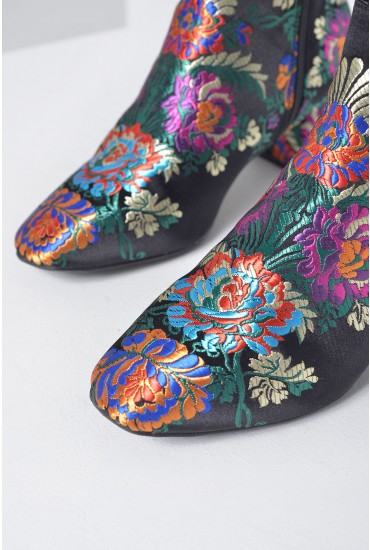 Luca Embroidered Boot