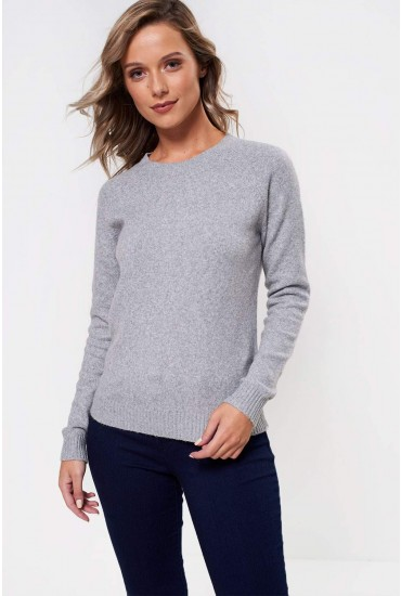 Doffy Soft Knit in Light Grey