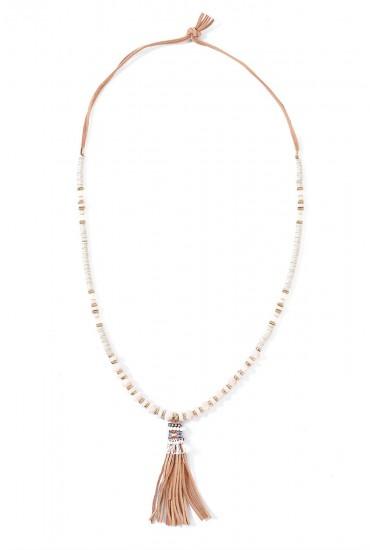 Freya bead and Tassel Pendant