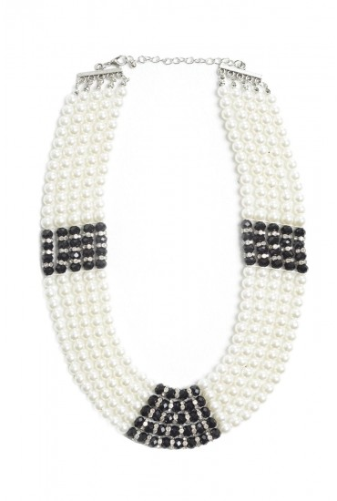 Rhonda Layered Pearl Necklace