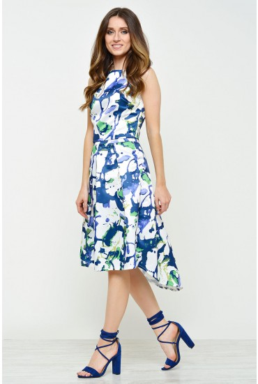 Maura Painted Pleat Skirt