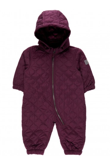 Quilt Suit in Purple