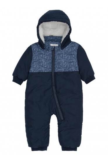 Made Padded Suit in Navy