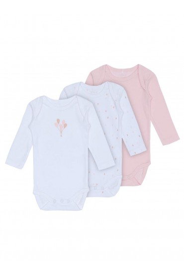 LS Body 3 Pack in Pink
