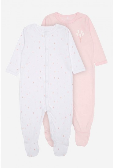 Nightsuit 2 Pack in Pink