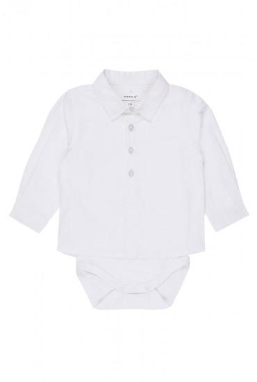 Fifus Shirt Body in White
