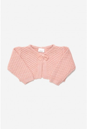 Tinella Knit Bolero in Pink