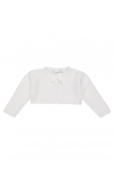 Tinella Knit Bolero in White