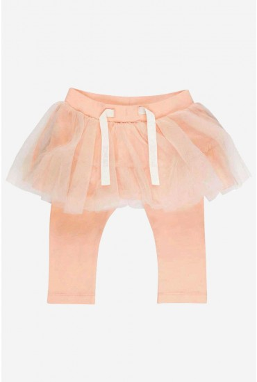 Tilla Skirt Legging in Pink