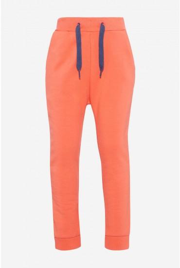 Voltana Sweat Pant in Orange