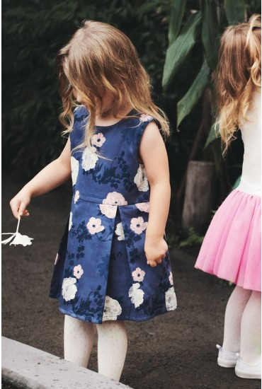 Falita Floral Girls Dress