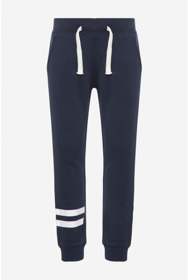 Cotton Sweat Pant in Navy