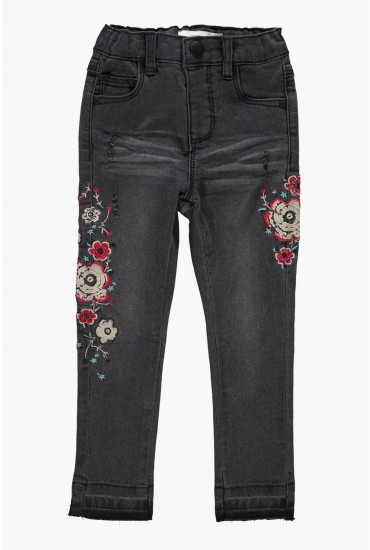 Polly Girl Embroidered Jeans