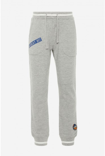 Nadir Boys Sweat Pants in Grey