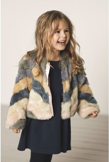 Faux Fur Girls Jacket