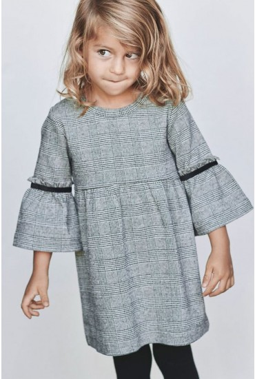 Sabon Girls Check Sweat Dress