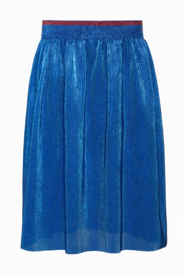 Nolelle Girls MIdi Skirt in Blue