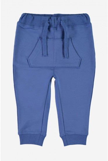 Gasle Boys Sweat Pants in Blue