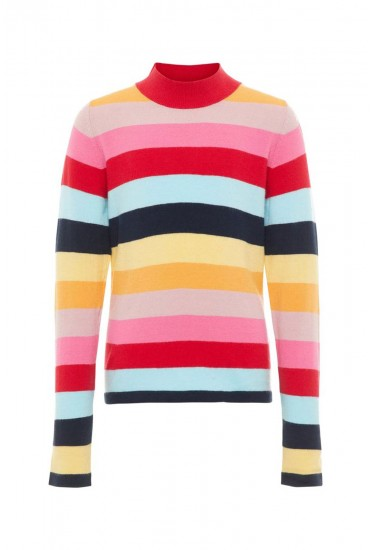 Frigmor Girls Stripe Knit Top