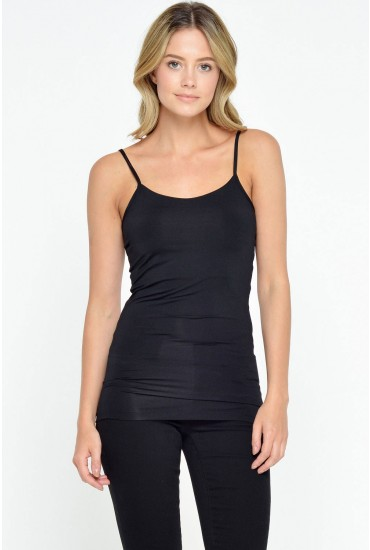 Surface Cami Top in Black