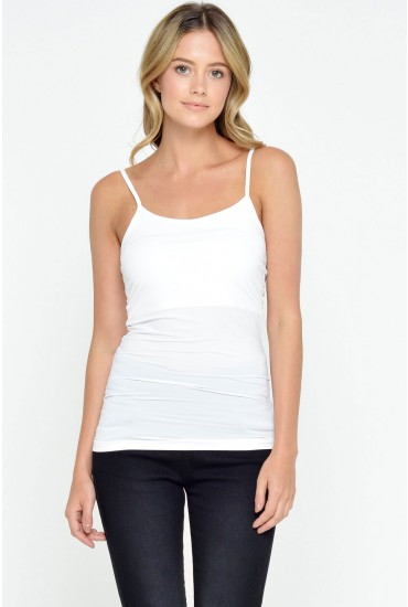 Surface Cami Top in White