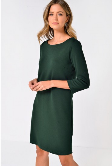 Tinny New Dress in Hunter Green