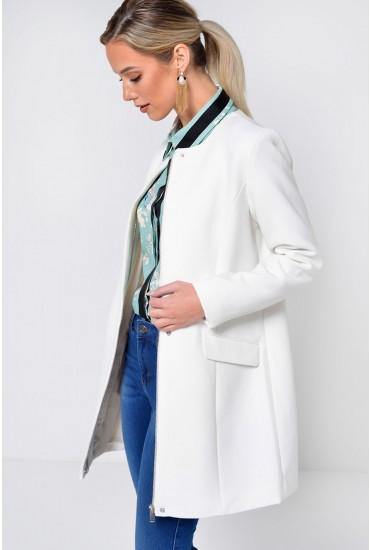 Pure Classic Coat in White