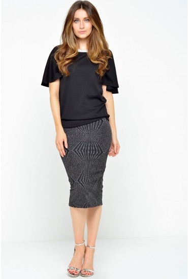 Fulton Skirt in Black