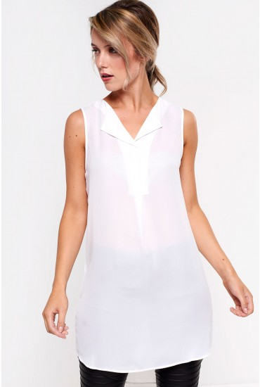 Lucy Tunic in White