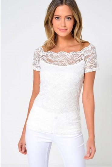 Milana Top in White