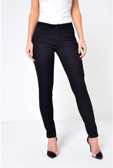 Ultimate Regular Super Stretch Skinny Jeans in Black