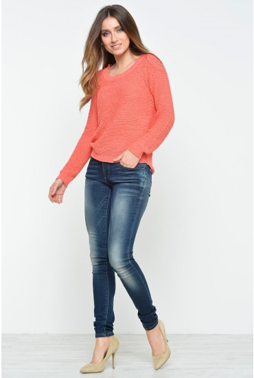Carrie Long Length Low Skinny Jeans