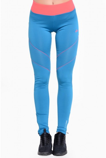 Edith Running Tights in Blue