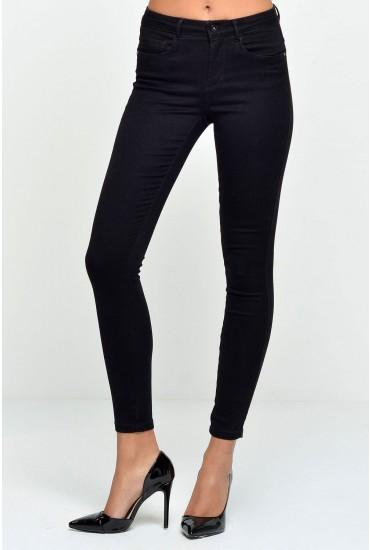 Royal Regular Length Skinny Jeans in Black