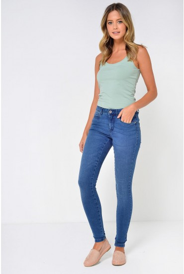 Royal Regular Skinny Jeans in Medium Blue
