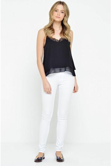 Ultimate Soft Regular Skinny Jeans in White