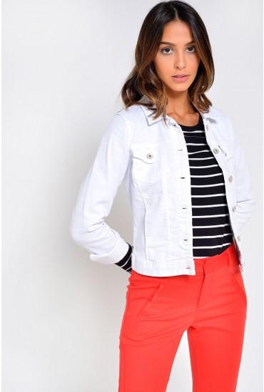 Westa Detail Jacket in White
