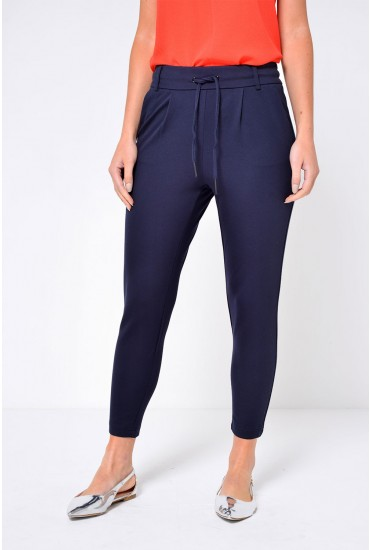 Poptrash Long Length Pant in Navy