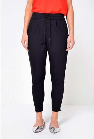 Poptrash Short Length Pant in Black