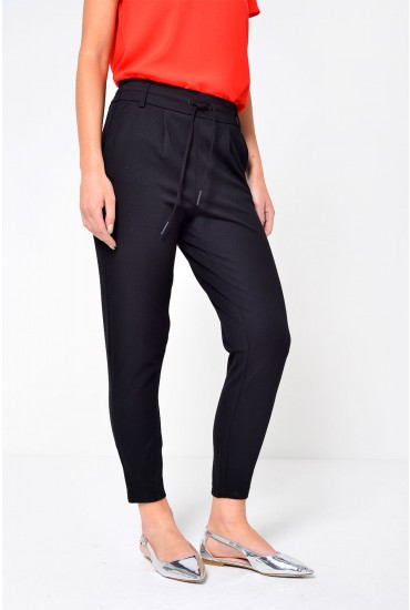 Poptrash Long Length Pant in Black