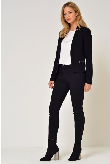 Madeline Blazer in Black