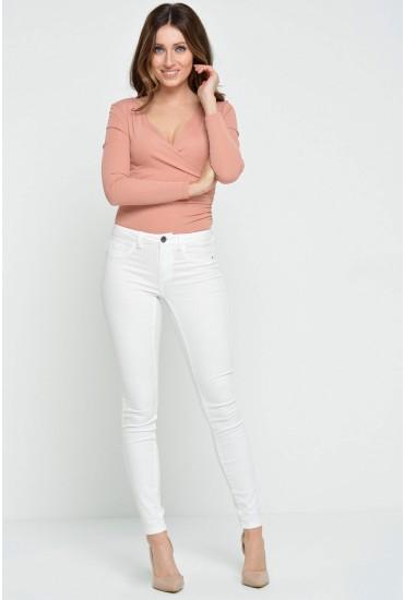 Five Pant Spring Regular in White