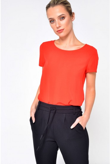 First SS Top in Red