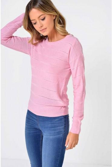 Pulli L/S Pullover in Pink