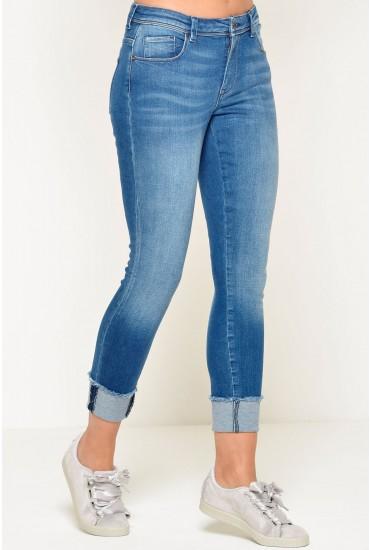 Carmen Regular Ankle Fold Skinny Jeans