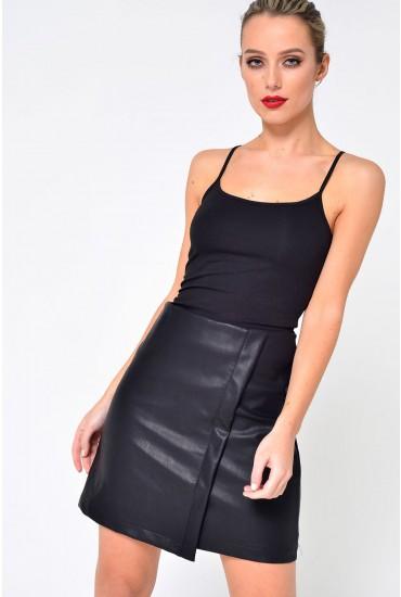 Ava Singlet in Black