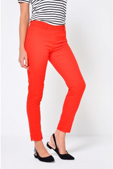 Power Pant in Red