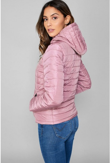 Felicia Short Padded Jacket with Hood