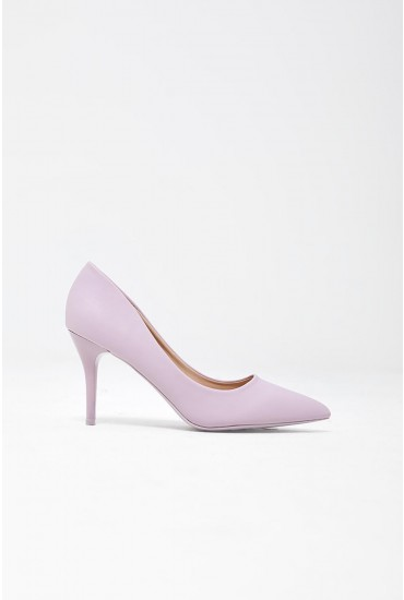 Cintia Court Shoes in Light Purple